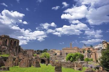 Palatino,roma,Italia