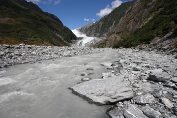 New Zealand landscape - Franz Josef Glacier