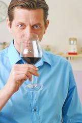 Ein gutes Glas Rotwein