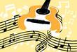 Gitarre und Noten