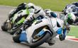 gara delle moto in pista