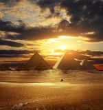 Fototapeta starodawny - archeologicznych - Piramidy