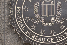 "Постер, картина, фотообои ""FBI"""
