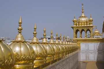 Roof of the Golden Temple in Amritsar, India