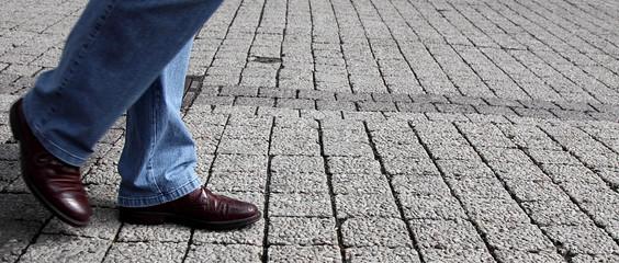 step on street