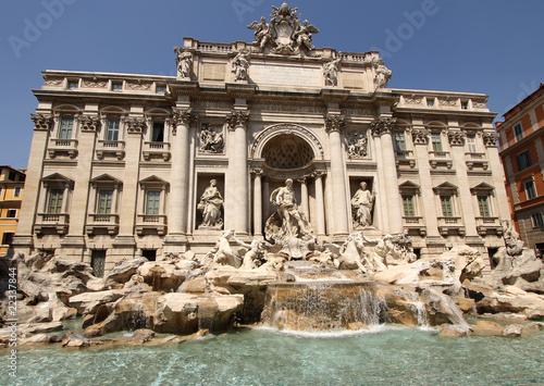 Leinwanddruck Bild Fontana di Trevi, Rome, Italy