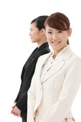 ビジネス女性2人