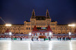 The skating rink has opened on Red square