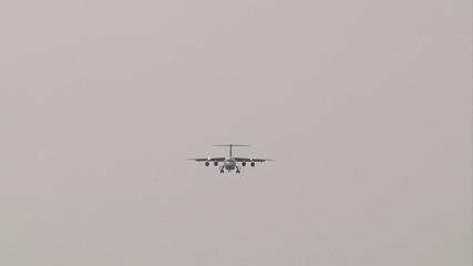 Final approach jet
