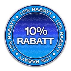 Aufkleber - 10% Rabatt (1-01)