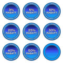 Aufkleber - Rabatt Set (1-01)