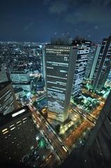 Shinjuku  Tokyo Metropolitan Goverment Building at Night