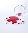 red wine glas
