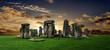 Leinwanddruck Bild - Stonehenge