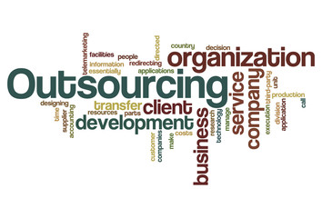 Outsourcing - Word Cloud