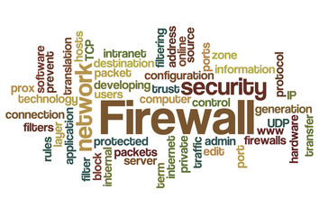 Firewall - Word Cloud