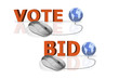 vote and bid