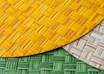 Tovagliette di paglia in vari colori