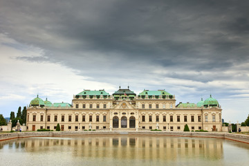 The Belvedere palace, Vienna