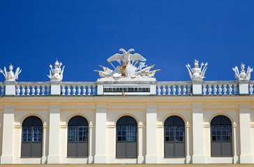 Detail of Schonbrunn Palace, Vienna