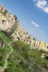 Cappadocia - Turkey, Fairy Chimneys - Diagonal view