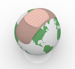 Bandage on Planet Earth