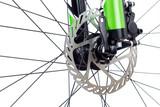 Hydraulic dics brake of mountain bicycle poster