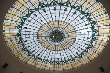 Rotunde Fenster Wintergarten