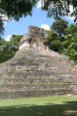 piramide a Palenque, Messico