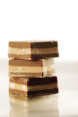 tre cremini di cioccolato