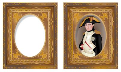 cornice e Napoleone in cornice