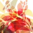 Hojas abstractas - 22383628