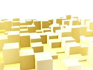 Golden equalizer bars