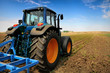 The Tractor - modern farm equipment in field - 22386036