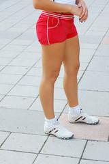girl in sportawear