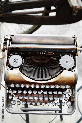 old antique vintage typewriter