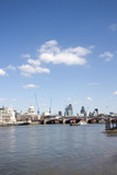 london city from the embankment poster
