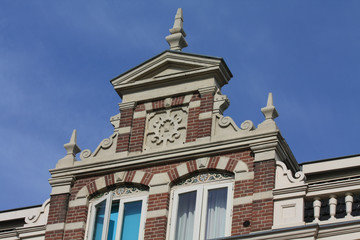 historic facade in Holland