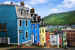 Colorful houses in St. John's - 22392883