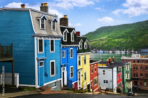 Colorful houses in St. John's Photo by Elenathewise