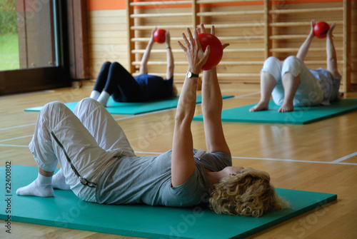 Physiotherapie mit Ball