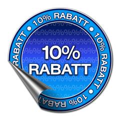 Aufkleber - 10% Rabatt (1-03)