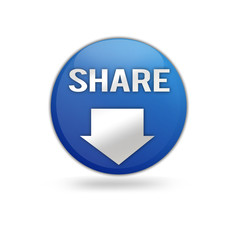 Share Button Blau