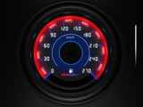 car dashboard speedometer