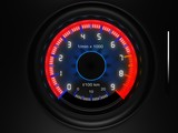 car dashboard tachometer