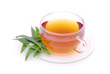 Tee Spitzwegerich - tea ribwort plantain 01 poster