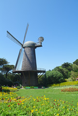 Dutch Windmill in Golden Gate Park