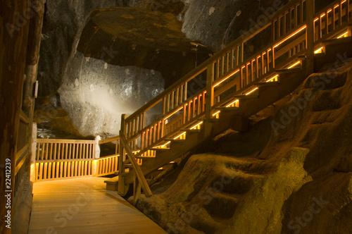 Kopalnia soli kamiennej. Wieliczka - 22412239