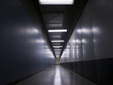 tunnel, corridor poster