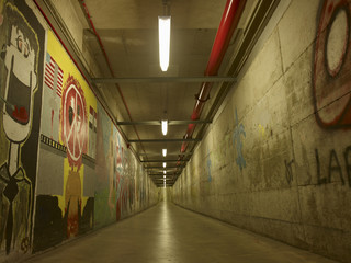 tunnel, corridor